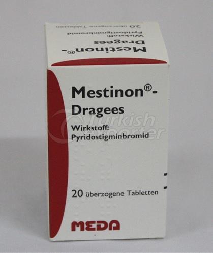 MESTINON 60 MG 20 DRAGEES