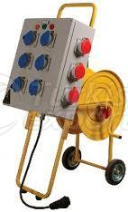 Cable Reel With Control Panel