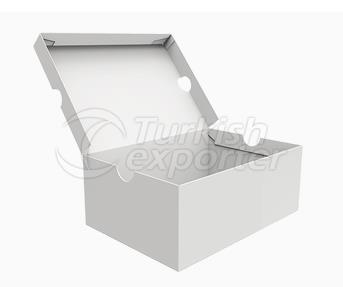 Caja de ropa blanca Premium