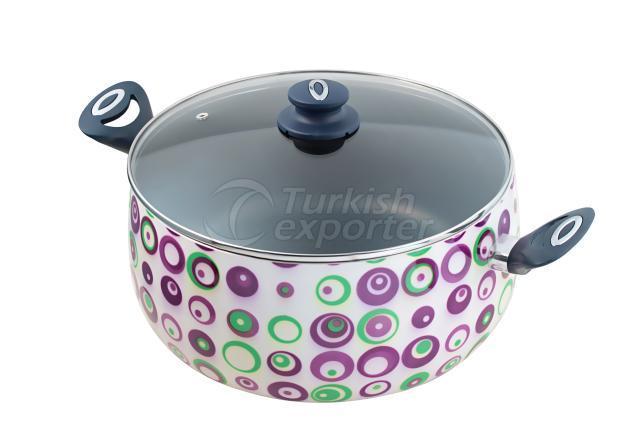 Decorative Deep Cooking Pot