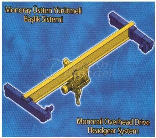 Monorail Overhead Drive Headgear System