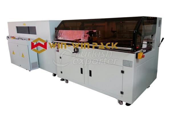 Automatic Vertical L-bar Sealing an