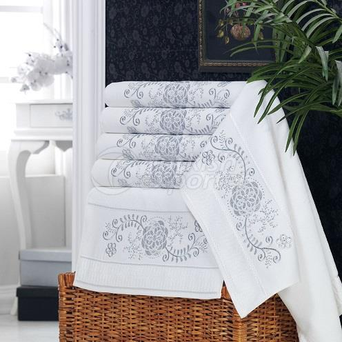 BELLA EMBROIDERED BLING TOWEL