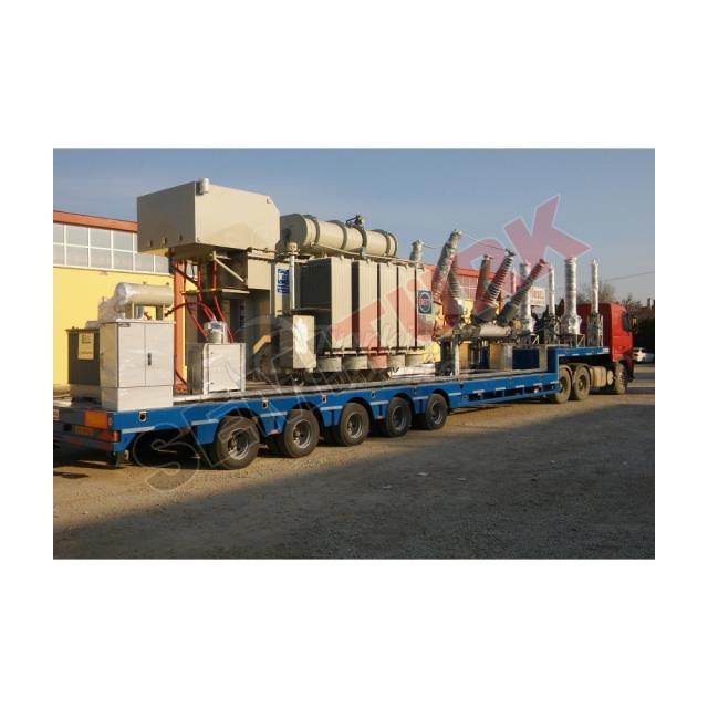 MOBILE POWER STATION SEMI-TRAILER