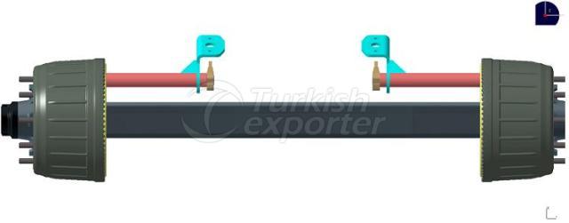 Trailer Axle 9 Ton-12 Tonne