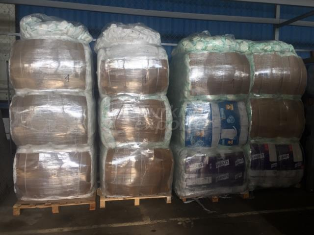 Baby Diapers Bales ITALY (5% WASTE)