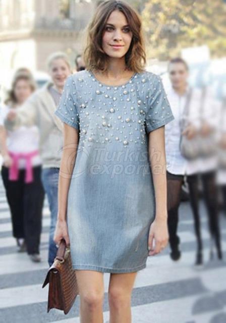 Jean Design Dress