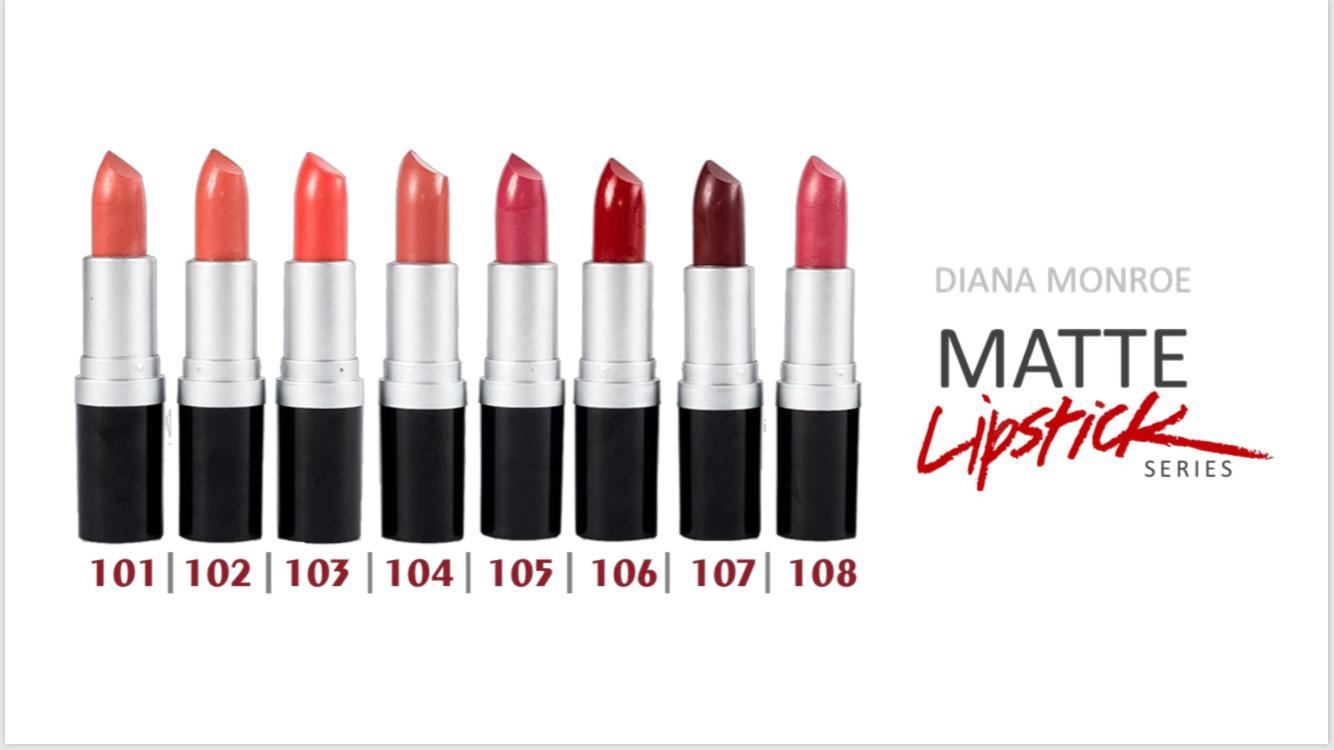 Diana Monroe MAtte Lipstick