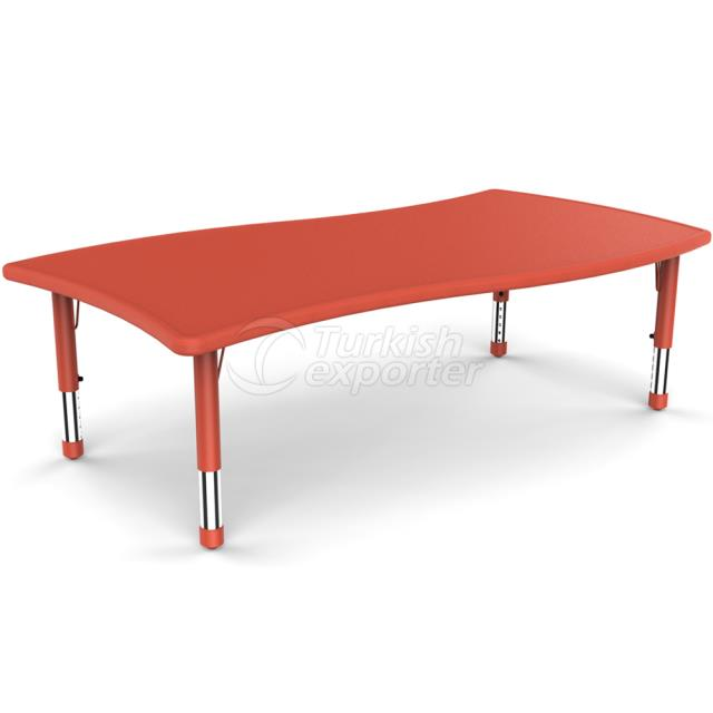 Yucai Floating Rectangular Table -165x91x40 60 cm YCY-097