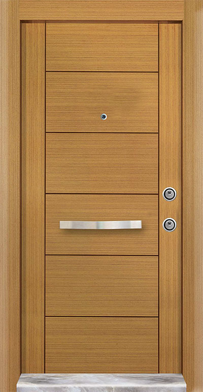 Alphi  Steel Door 7202