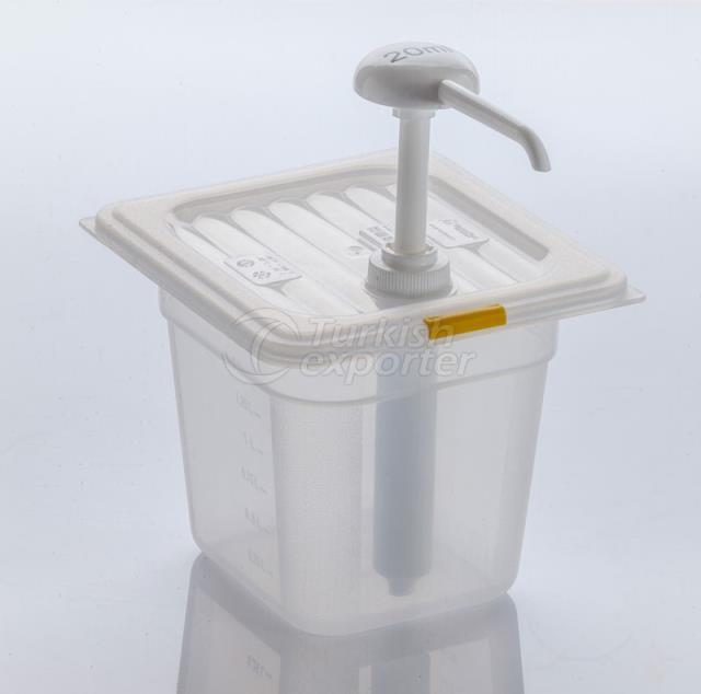 PP Mustard Dispenser Single