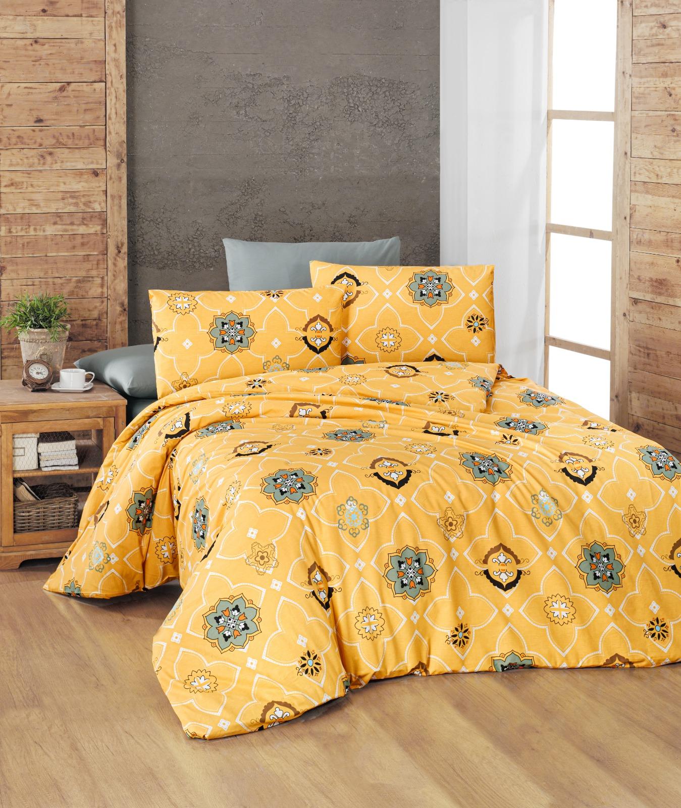 100% cotton Ranforce duvet cover set