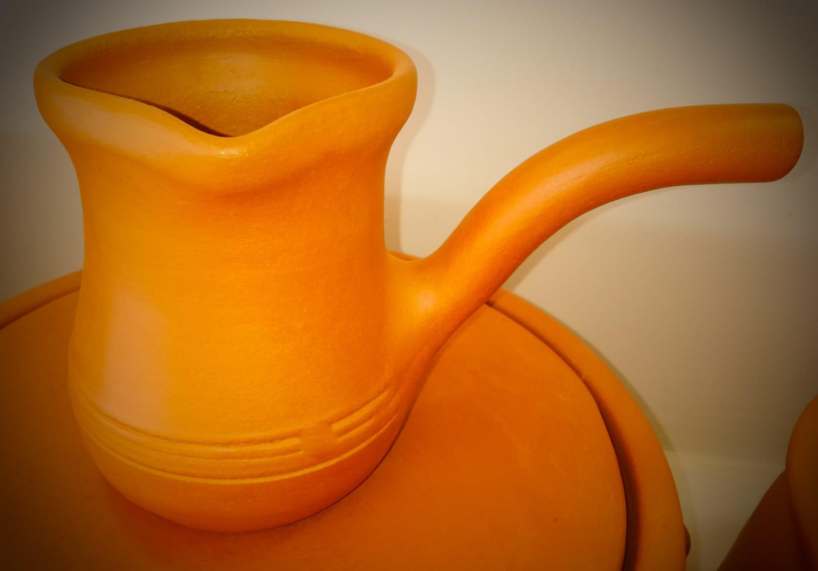 Earthenware Coffee Pot