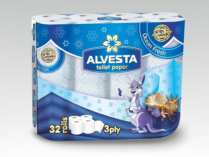 Toilet Paper – 32 Rolls – Occean Fresh