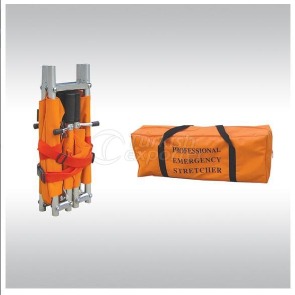 Quadruple Fold Type Stretcher