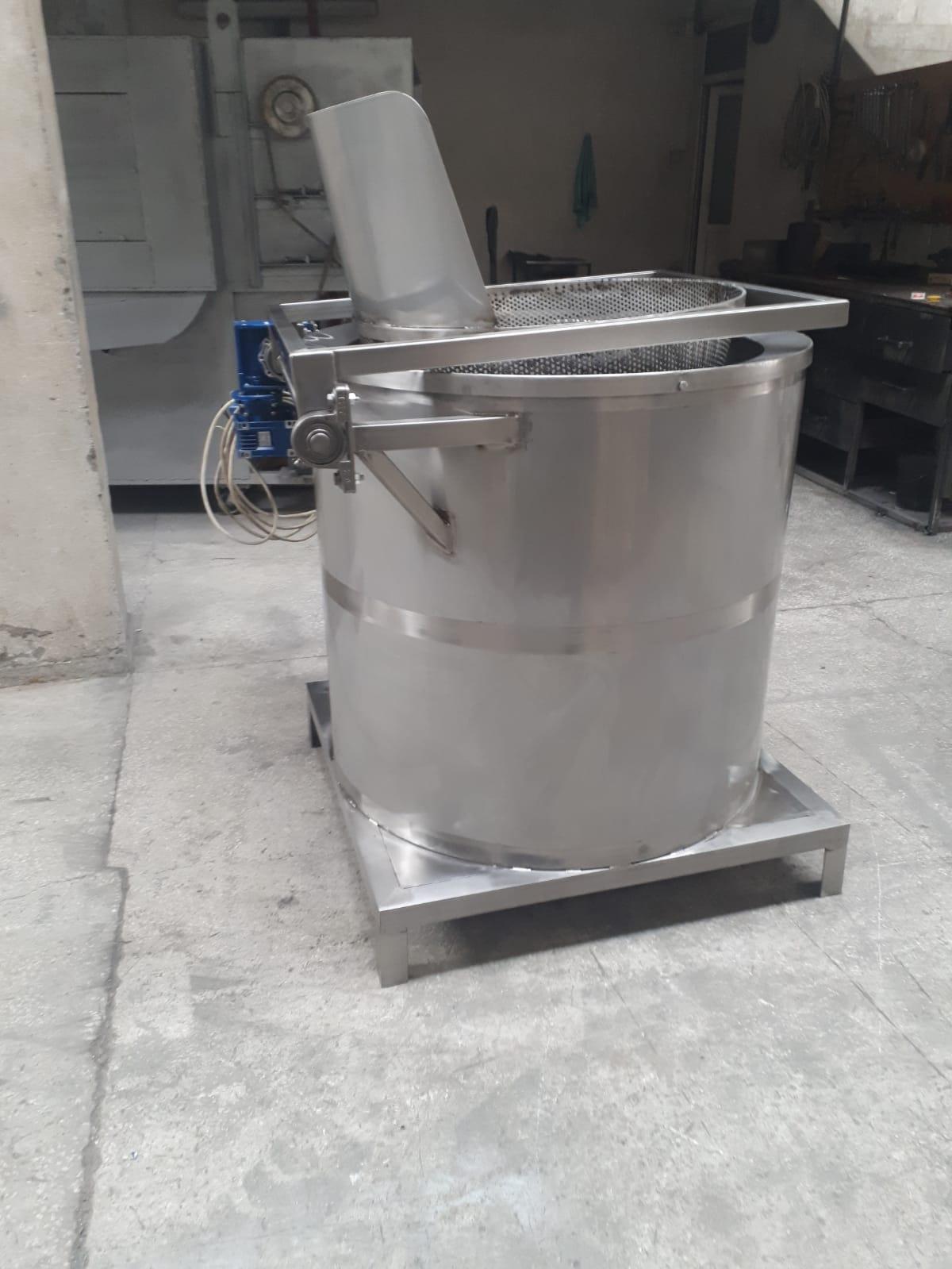 Deep Fryer & industrial nuts frying machine