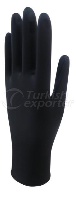 Black Nitrile Examination Glove