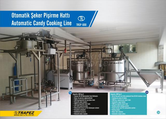 Automatic Candy Cooking line