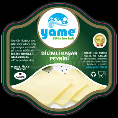 Sliced Kashar Cheese