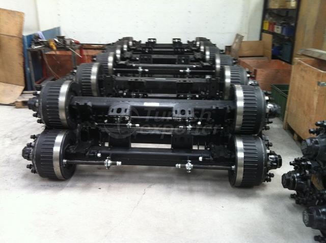 D-Kam Brake System Trailer Axle