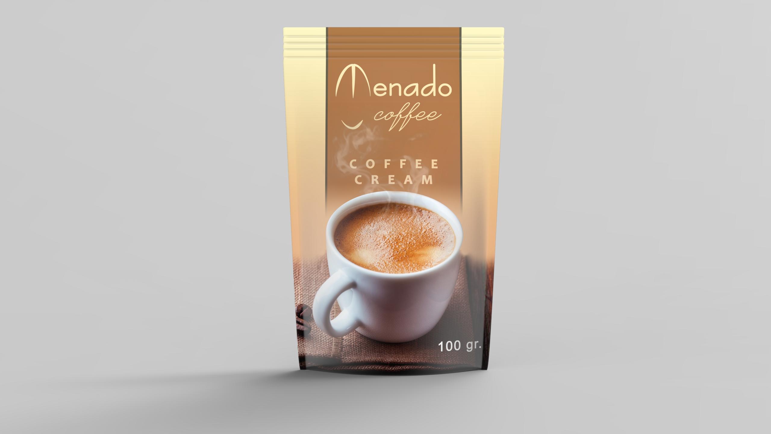 Menado - Coffee Cream - 170 gr.
