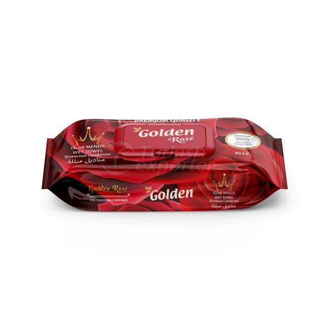 Влажные салфетки Golden 120 шт.
