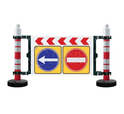 Traffic Sign Barricades  12405 DB R