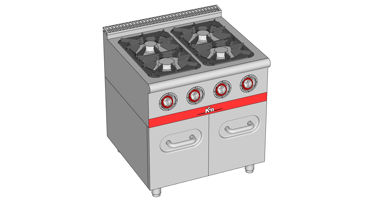 RANGE WITH CUPBOARD GAS