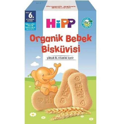 Organik Bebek Bisküvisi
