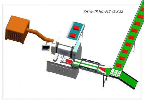 3 Knife Paper Cutting Machine 43X32PLS