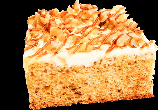 Carrot Cake with Walnut