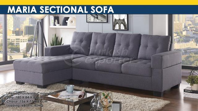 Maria Sectional Sofa Set