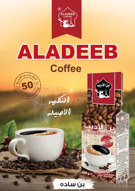 ALADEEB CAFÉ COM CARDAMOMO FORA