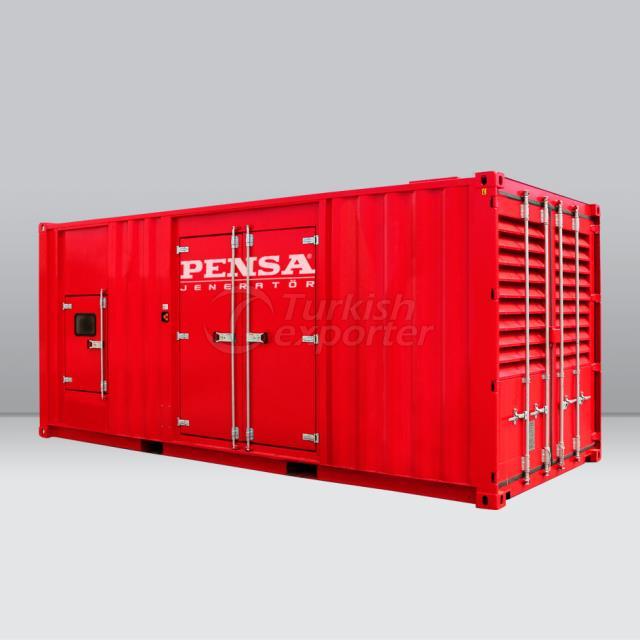 PENSA 2250 kVA CUMMINS محرك ديزل