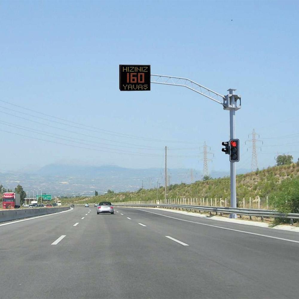 Speed Warning System With Doppler Radar