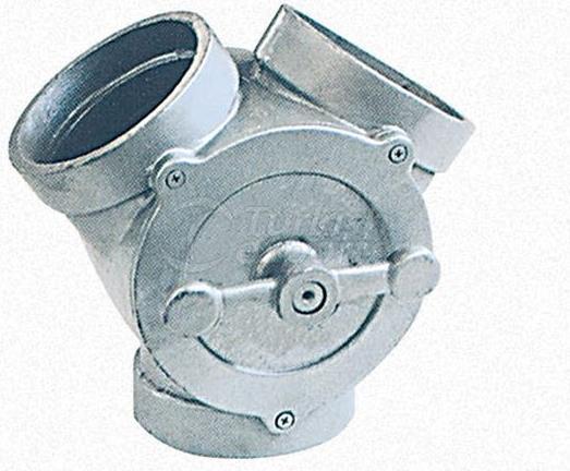 Aluminium Diverter Clape