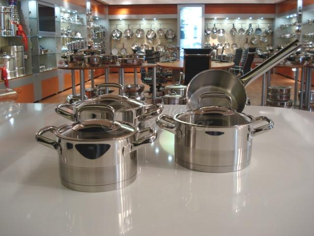 Stainless Steel Premier Cookware