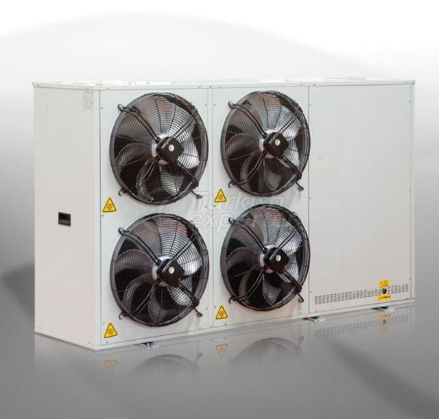 INDUSTRIAL DOUBLE-REGIME COOLING UNITS