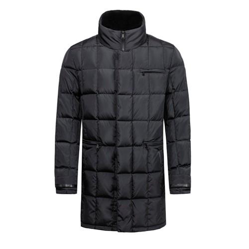 Men Down Quilted Winter Long Coat