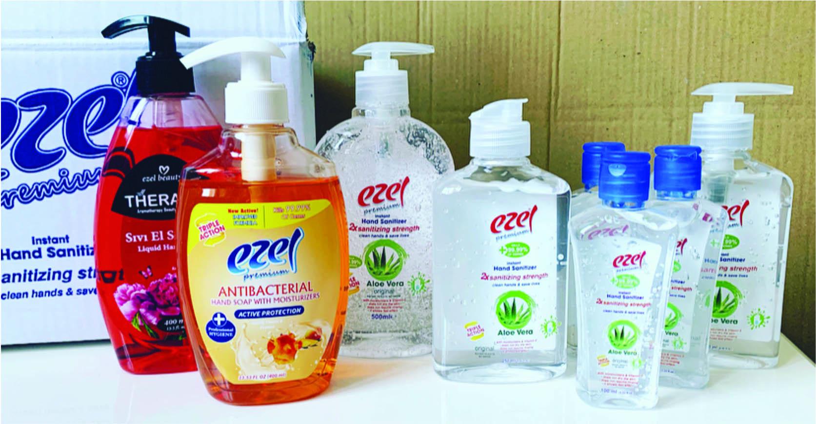 Instant hand sanitizer gel 100 ml
