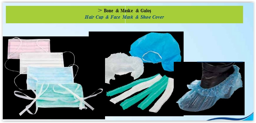 Bone - Medikal Maske - Galoş