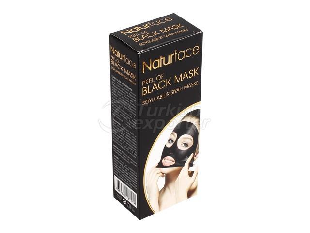 Soyulabilir Siyah Maske Tüp 100 ml