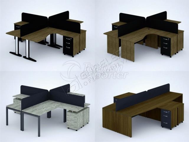 Dörtlü-Çalışma-Masası