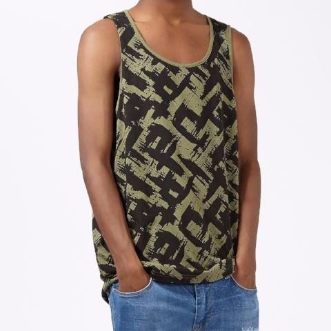 Antioch Vest with All Over Printed