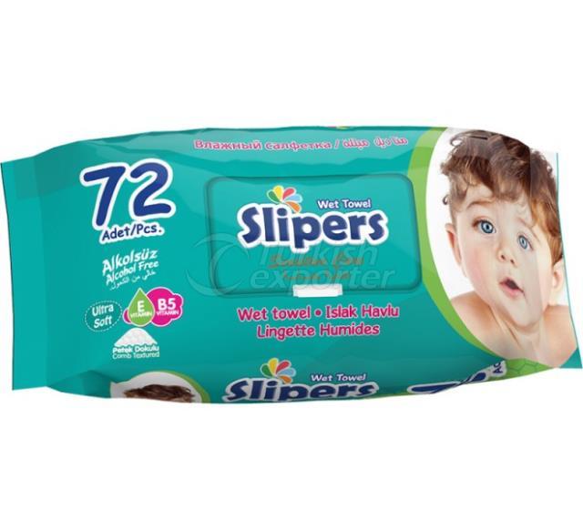 Wet Wipes Slipers   -799494_h600