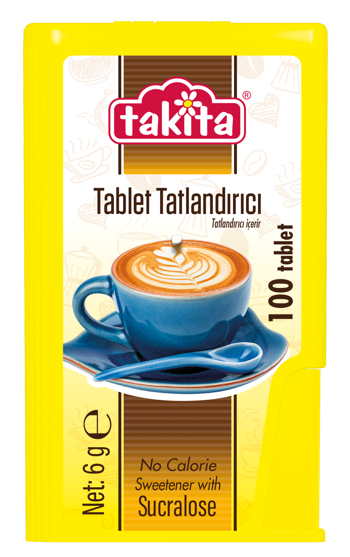 Tablet Sweetener with Sucralose