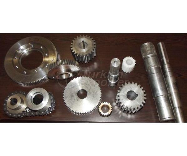 Pinion Shaft-Gears
