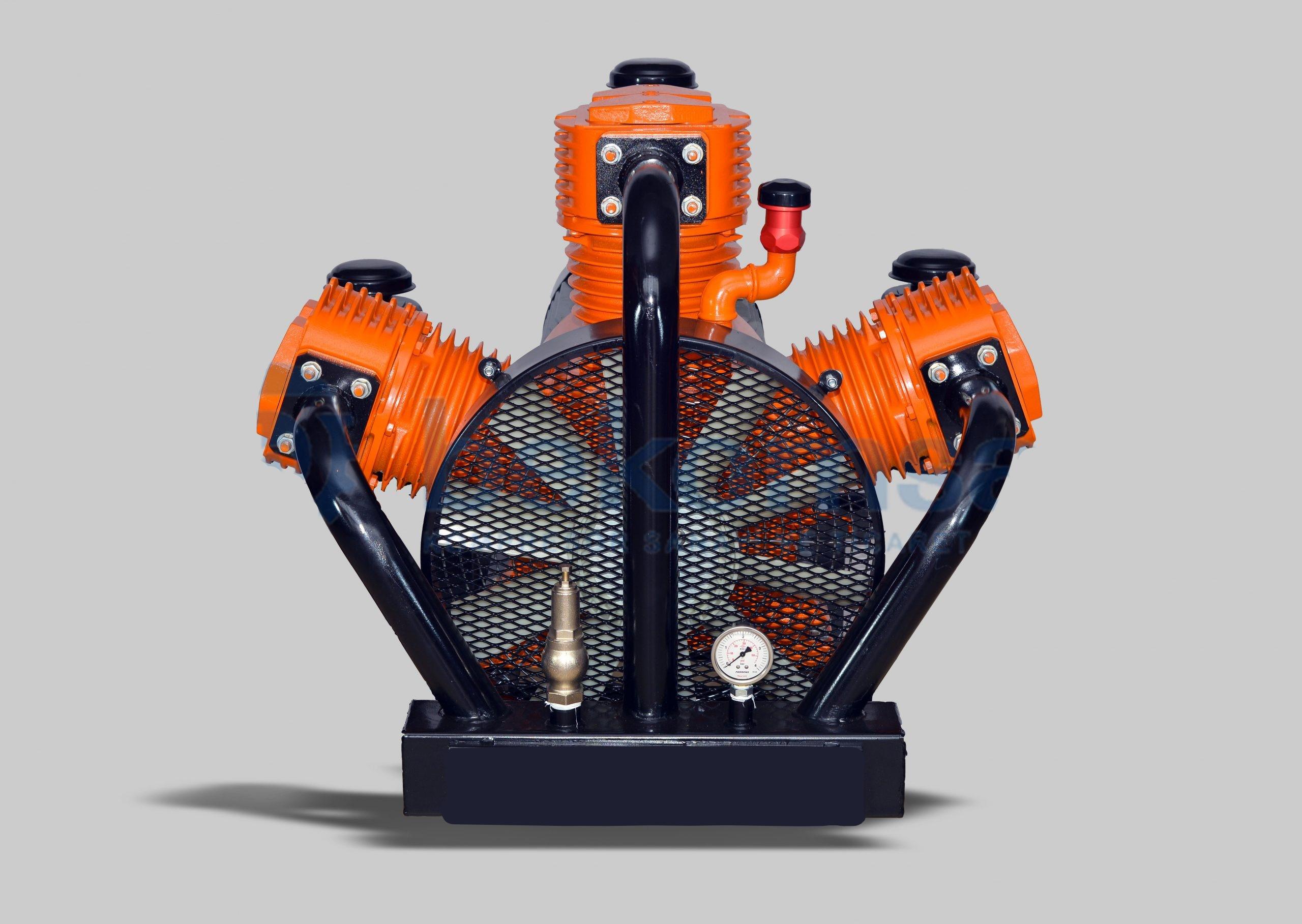 Cement Trailer Air Compressor