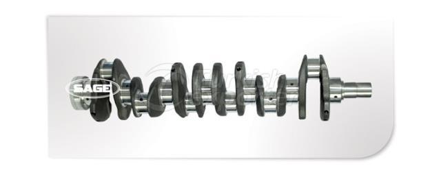 Komatsu S6d 110 Crankshafts - SG4303