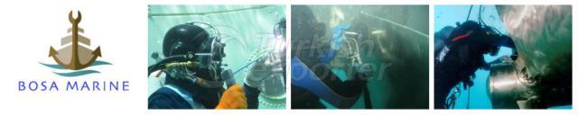 Reparaciones subacuáticas